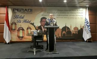 PERADI: Advokat Wajib Menjalankan Kode Etik dan Menghormati Penegak Hukum