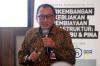 Yose Rizal selaku Chief Relationship Officer dari PINA dalam workshop bertema Perkembangan Kebijakan Pembiayaan Infrastruktur di Indonesia: Skema KPBU dan PINA di Jakarta, Kamis (26/9).