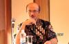Sri Bagus Guritno selaku Direktur Kerjasama Pemerintah-Swasta Rancang Bangun dari Kementerian PPN/BAPPENAS dalam workshop bertema Perkembangan Kebijakan Pembiayaan Infrastruktur di Indonesia: Skema KPBU dan PINA di Jakarta, Kamis (26/9).