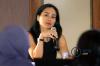 Cindy Djojonegoro selaku Partner dari Siregar & Djojonegoro Law Firm dalam workshop bertema Perkembangan Kebijakan Pembiayaan Infrastruktur di Indonesia: Skema KPBU dan PINA di Jakarta, Kamis (26/9).