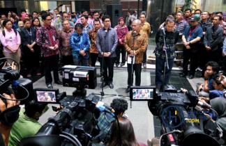 Aksi Mahasiswa se-Indonesia Tolak Revisi UU KPK