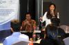 Wemmy Muharamsyah dan Hana Monica dari AYMP Atelier of Law, dalam Pelatihan Hukumonline 2019