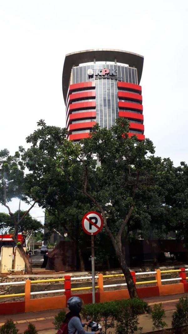 Gedung Merah Putih KPK di kawasan Kuningan, Jakarta Selatan. Foto: MYS