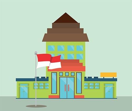 Benarkah Nama Gedung Kini Wajib Berbahasa Indonesia?