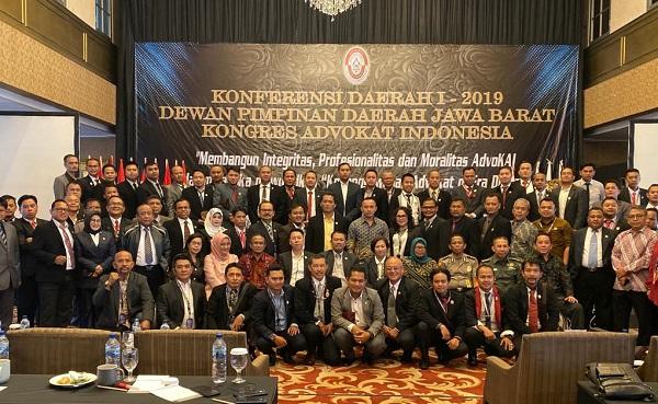 Tingkatkan Profesionalitas Advokat Era Digital, KAI Jawa Barat Gelar Konferensi Daerah