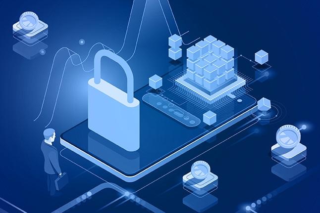 Ilustrasi keamanan data. BAS