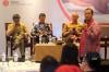 "Even Alex Chandra dari iDEA (kiri), Abadi Abi Tisnadisastra dari AKSET Law (kedua dari kiri), Tony Seno Hartono selaku Praktisi ICT (kedua dari kanan), dan Satriyo Wibowo dari Indonesia Cyber Law Community (kanan) dalam Sesi 2 Diskusi Hukumonline ""Perkembangan Terbaru Penyelenggaraan Sistem dan Transaksi Elektronik berdasarkan PP 71 Tahun 2019 (PSTE)"", Selasa (3/12/19). Foto: Redaksi."