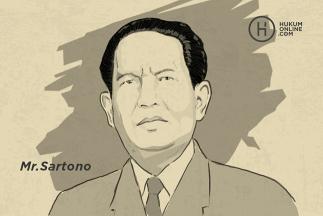 Sartono, Meester in de Rechten di Kursi Pertama Ketua Parlemen Indonesia