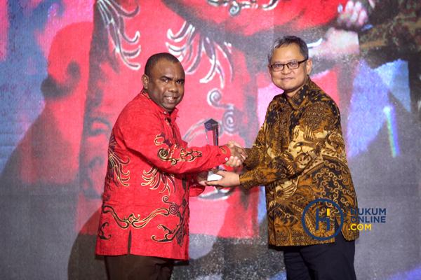 Acara pro bono award yang diselenggarakan hukumonline tahun 2019. Foto: RES