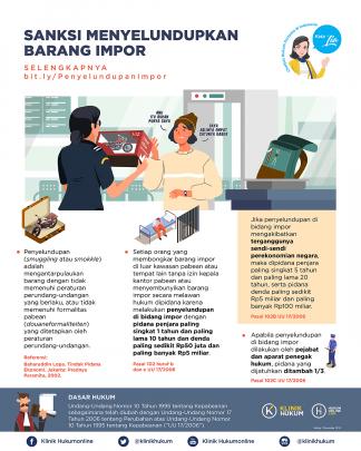 Sanksi Menyelundupkan Barang Impor