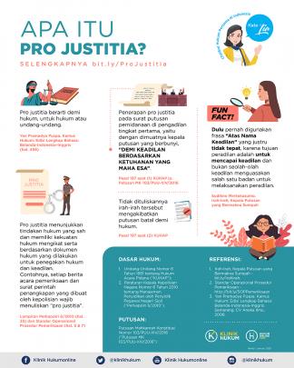 Apa Itu Pro Justitia?