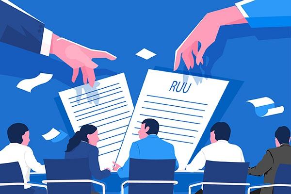 Ilustrasi pembahasan RUU. Hol