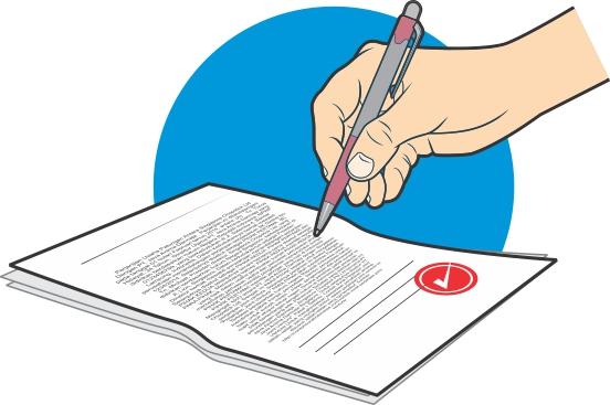Surat Pernyataan Bertuliskan Tangan dengan Diketik, Lebih Kuat Mana?