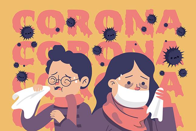 Ilustrasi coronavirus. Ilustrator: HGW