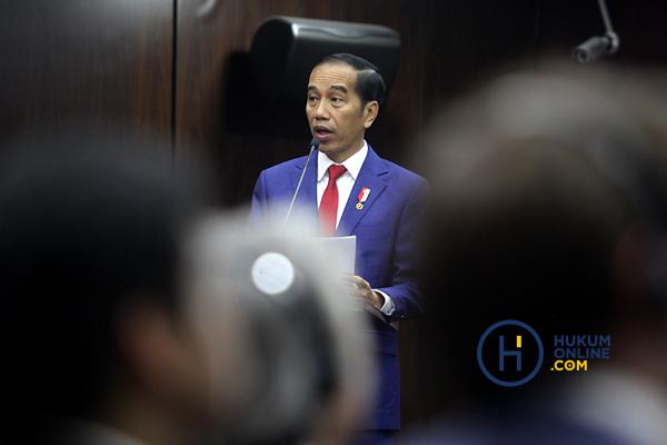 Presiden Jokowi: Foto RES