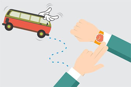 Pembatalan dan Perubahan Jadwal Transportasi Umum Akibat COVID-19