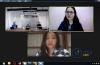 """Webinar Hukumonline 2020 """"Are you Data Breach Ready?"""": Kesiapan dan Tanggapan Responsif yang Dibutuhkan oleh Korporasi dari Segi Hukum. Oleh Tim AKSET (kiri atas) Nina Jenira (kanan atas) Phalita Gatra (tengah bawah) (16/6/2020)"""