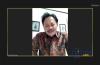 Pemaparan materi webinar oleh Bapak N. Eko Laksito sebagai narasumber