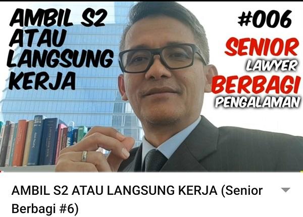 Resah Soal YouTube, Top Lawyer Indonesia Ini Jajal Jadi YouTuber