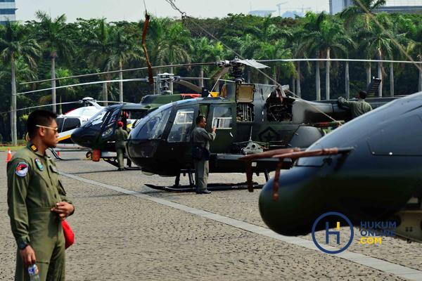 TNI menggelar pameran Alutsista jelang hari jadi TNI ke-73 pada 5 Oktober di Monas, Kamis (27/9/2018) lalu. Foto: RES
