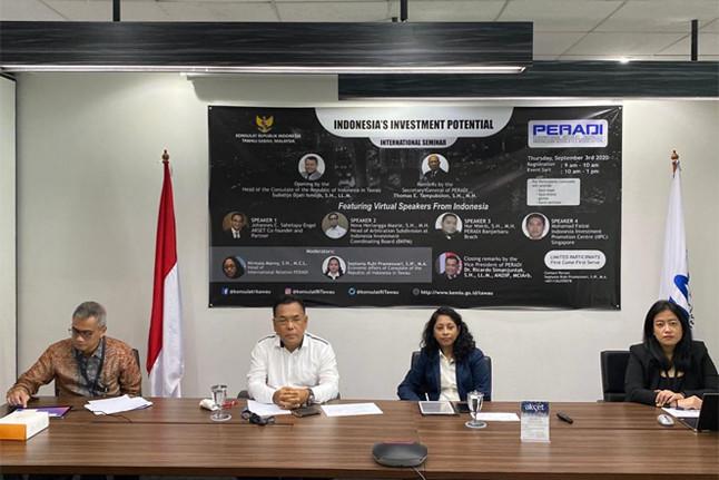 Menakar Potensi Investasi Lewat Seminar Internasional Bertajuk 'Indonesia's Investment Potential'