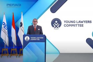 Sah! DPN Peradi Melantik Pengurus Peradi Young Lawyers Committee 2020-2023