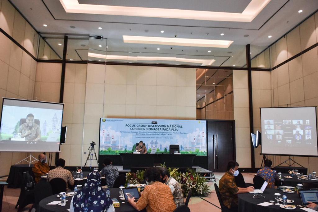 Focus Group Discussion Nasional Cofiring Biomassa pada PLTU:  Pembahasan Kesiapan Teknologi, Industri Penunjang Penyediaan Pasokan Biomassa, dan Tingkat Komponen Dalam Negeri (TKDN)
