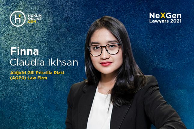 Finna Claudia Ikhsan, Associate Lawyer di Aldjufri Gill Priscilla Rizki (AGPR) Law Firm.