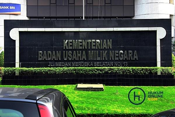 Kementerian BUMN. Foto: RES