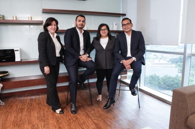 Empat Pendiri AGPR, Fairuz T. Aldjufri, Ammar Singh Gill, Maylanie N. Priscilla, dan Jamal Rizki. Foto: Istimewa.
