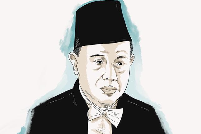 R Soeleiman EKoesoema Atmadja, Doktor Hukum dari Leiden yang Pro-Republik