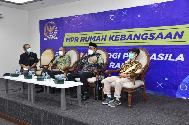 Diskusi Empat Pilar MPR. Foto: Istimewa.