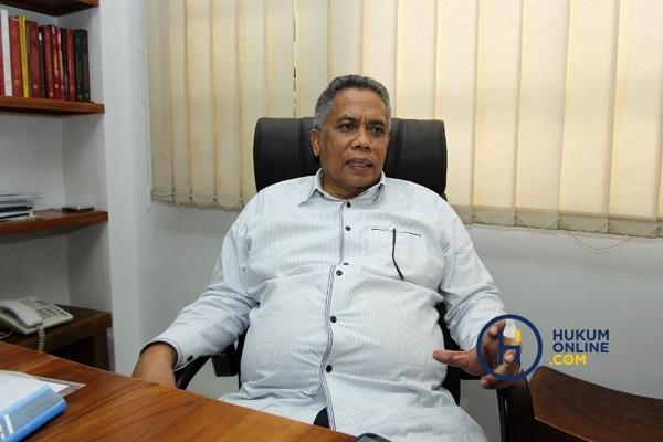Ketua Umum Peradi RBA Luhut MP Pangaribuan. Foto: RES