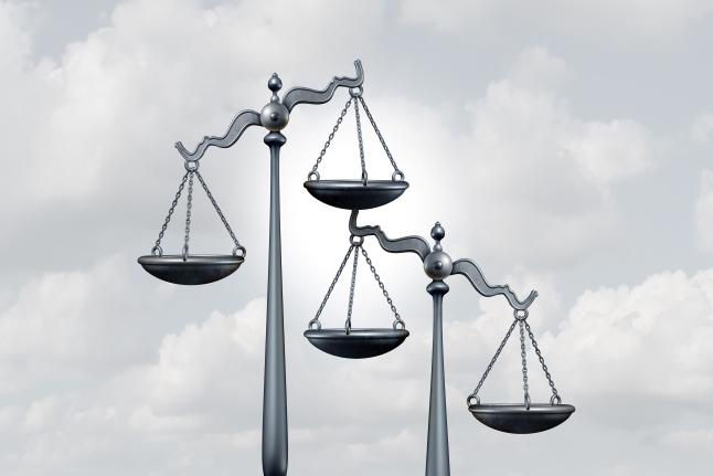 Ilustrasi Timbangan Hukum. Foto: Istimewa.