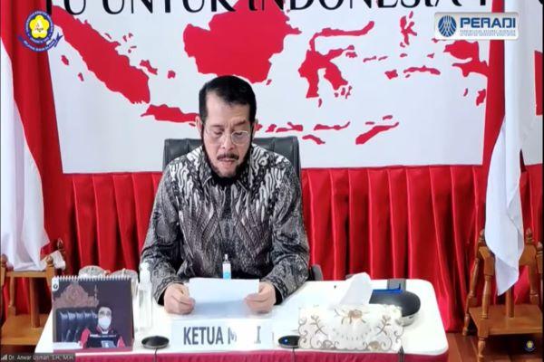 Ketua MK Anwar Usman. Foto: RFQ