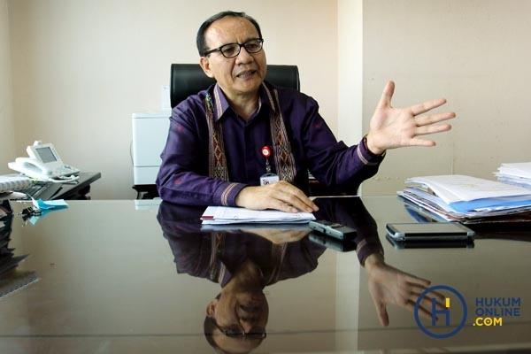 Ketua Satgas Waspada Investasi OJK, Tongam L Tobing. Foto: RES