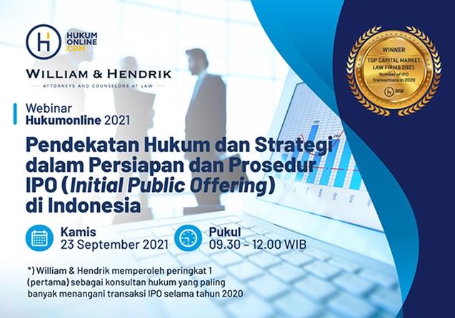 Pendekatan Hukum dan Strategi dalam Persiapan dan Prosedur IPO di Indonesia