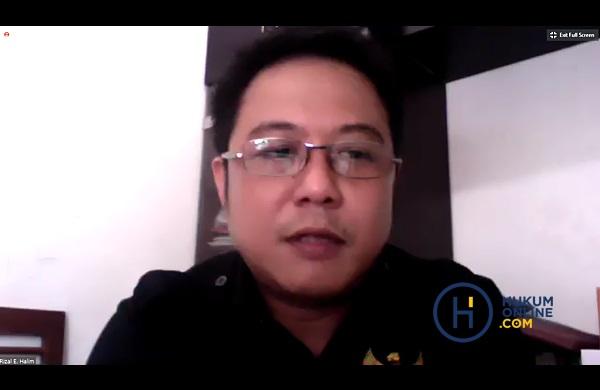 Ketua Badan Perlindungan Konsumen Nasional (BPKN), Rizal E. Halim. Foto: RES