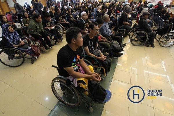 Penyandang disabilitas. Foto: RES