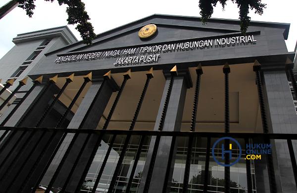 Gedung PN Jakarta Pusat. Foto: RES