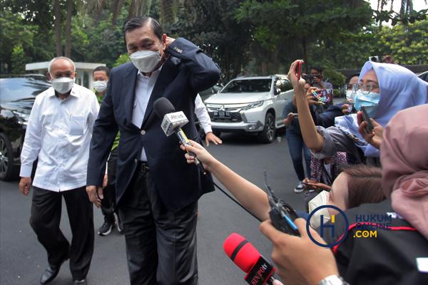 Luhut Pandjaitan Klarifikasi ke Polda Metro Jaya