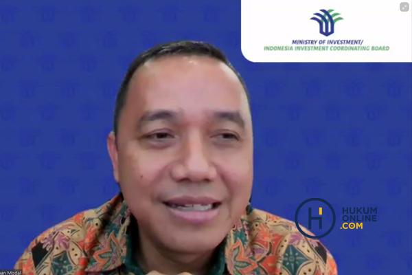 Deputi Bidang Kerja Sama Penanaman Modal Kementerian Investasi/Badan Koordinasi Penanaman Modal (Kementerian Investasi/BKPM), Riyatno. Foto: RES