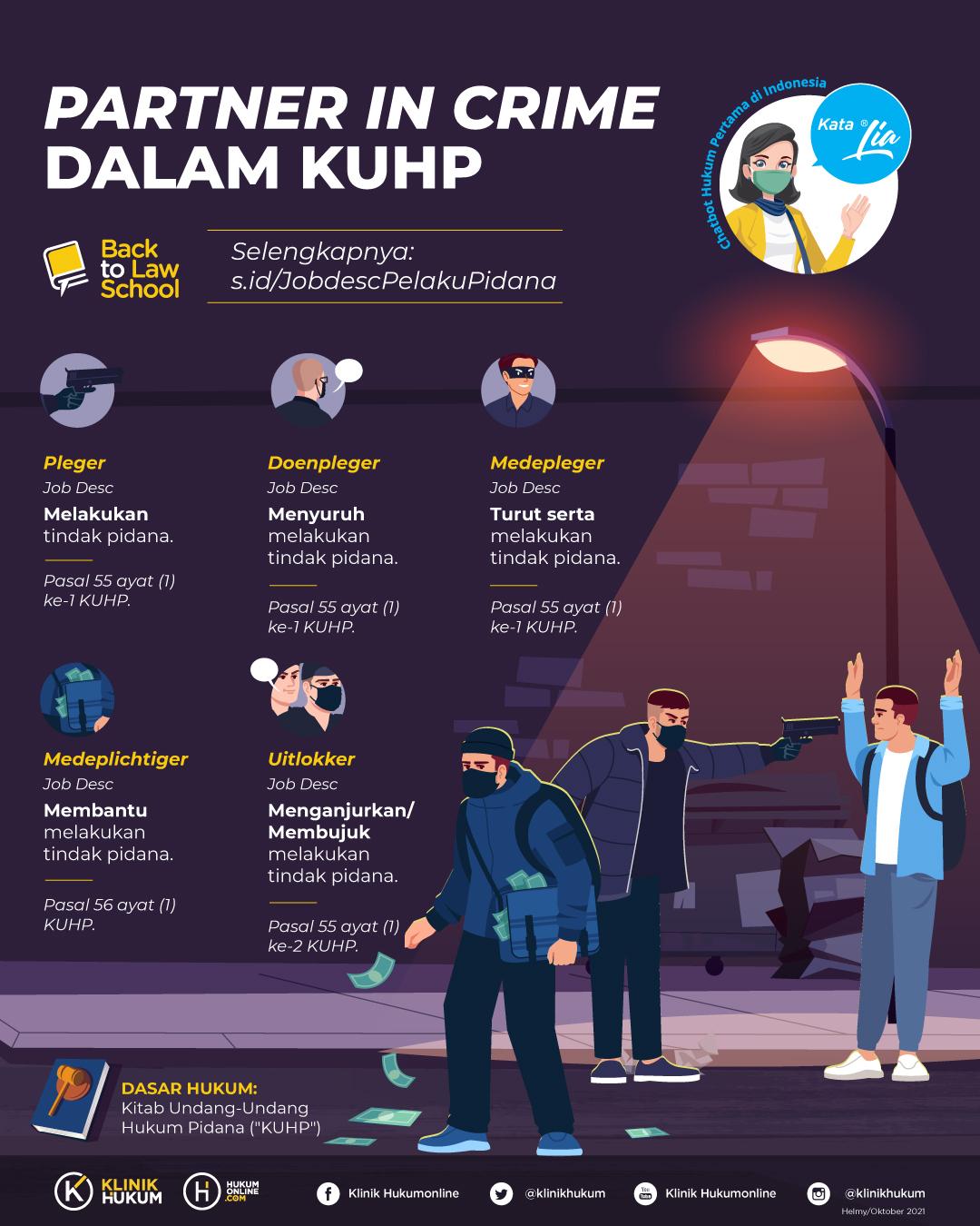 <I>Partner in Crime</i> dalam KUHP