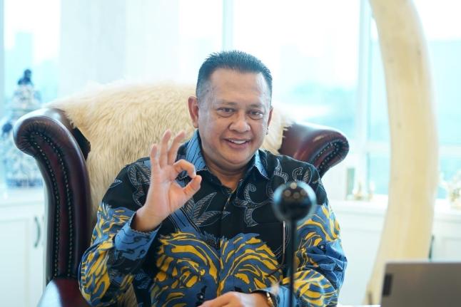 Ketua MPR RI Bambang Soesatyo. Foto: Istimewa.