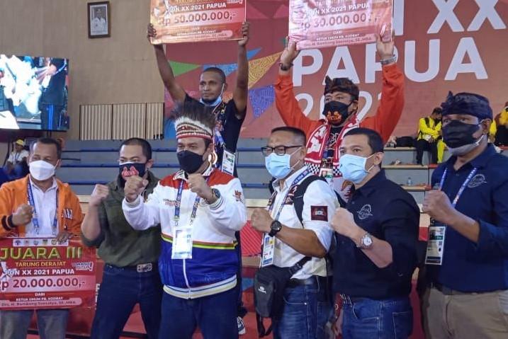 Junjung Sportivitas dan Fairplay, Bamsoet Apresiasi Cabor Tarung Derajat PON XX