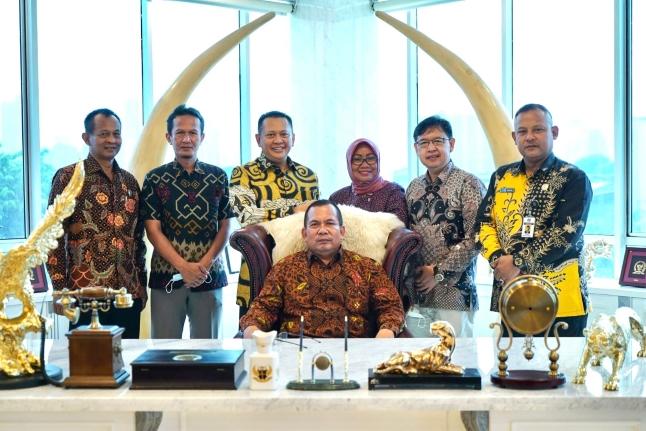Terima Komisi D DPRD Kabupaten Kebumen, Bamsoet Dorong Peningkatan Kesejahteraan Masyarakat